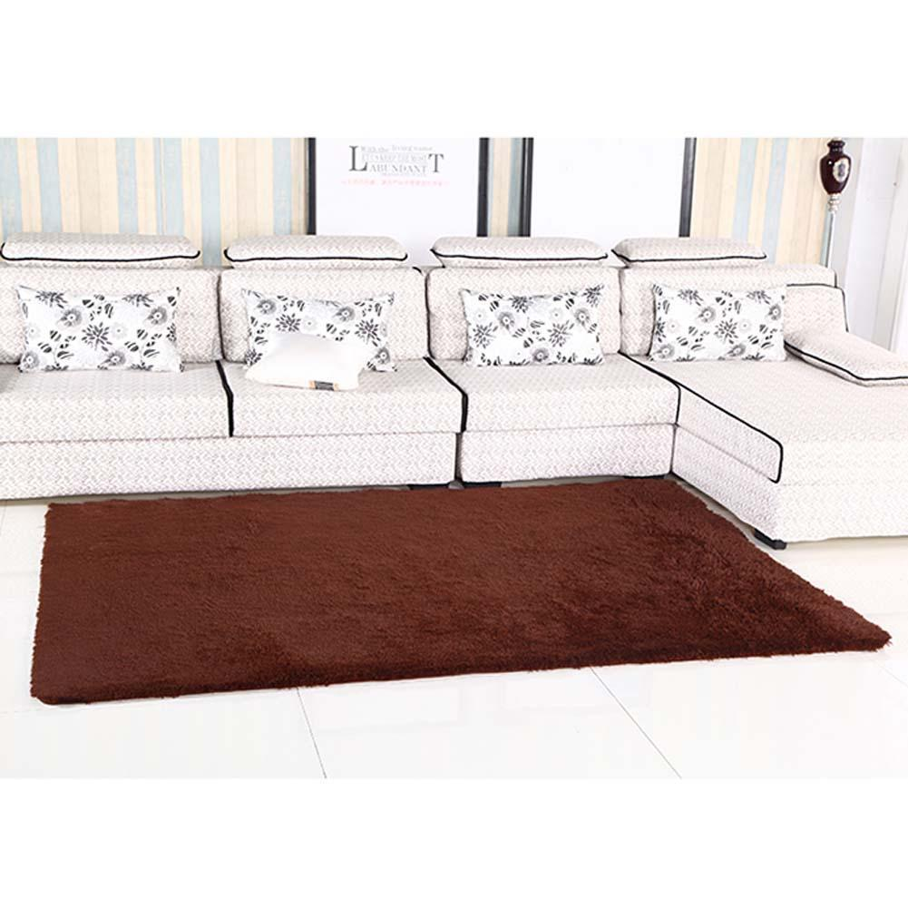 fluffy rugs anti skiding shaggy area rug dining room carpet floor mats brown shaggy rugs shag rugs apjin carpet from home u0026 garden on - Fluffy Rugs