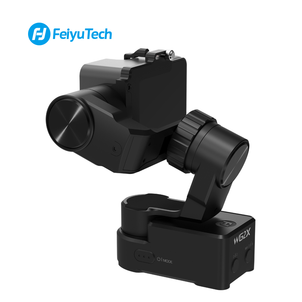 Image 5 - FeiyuTech WG2X Wearable Mountable Action Camera Gimbal Splash proof Stabilizer for GoPro Hero 7 6 5 4  Sony RX0 Action Camera-in Handheld Gimbals from Consumer Electronics