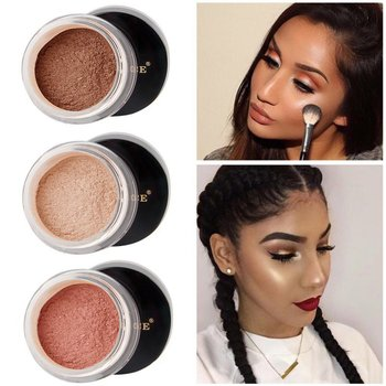 Loose Powder Pearl Shimmer Face Makeup Finishing Foundation Beauty Makeup Highlighter Powder