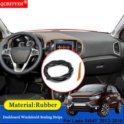 QCBXYYXH автомобиль-Стайлинг резиновая анти-шум звукоизоляция Пылезащитная приборная панель лобовое стекло уплотнительные полосы подходят