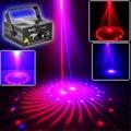 IR 12 Patterns RB Red&Blue Laser Projector Stage Lights 3W Blue LED Mixing Effect DJ Party KTV Laser Show Stage Lighting Z12RB