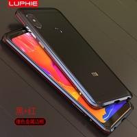 Luphie Case For Xiaomi Redmi Note 5 Case Aluminum Metal Frame Hard Back Cover Redmi Note