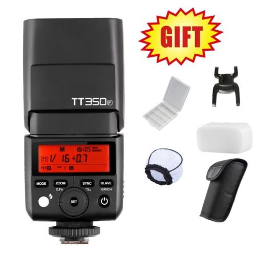 Godox Mini TT350F TT350 2.4G TTL Camera Flash Speedlite for Fuji XT20 XT2 XA1 XT10 XA2