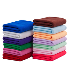 Salon Microfiber Towel Absorbent Car Wash Cleaning Cloth Bath Towel Magic Hair-drying Towel for Travel 35*75cm 70g Promotion