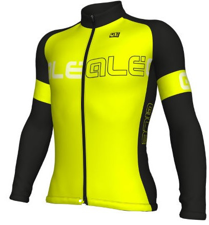 2017 Ale Team New Men`s Long Sleeve Cycling Jersey Breathable Ropa Ciclismo Maillot Quick Dry MTB Bicycle Clothing