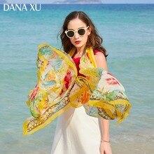 Женский длинный шелковый шарф, роскошная брендовая накидка, пляжное покрывало, одежда для купания, бандана, хиджаб, защита лица, 245*110 см, 2019