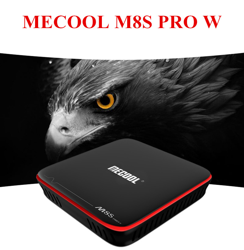 MECOOL M8S PRO Smart TV Box Voice Remote Control Android 7.1 S905W CPU 2GB 16GB 2.4GHz WiFi 4K HD HDMI Set -Top Box PK X96 H96 недорого