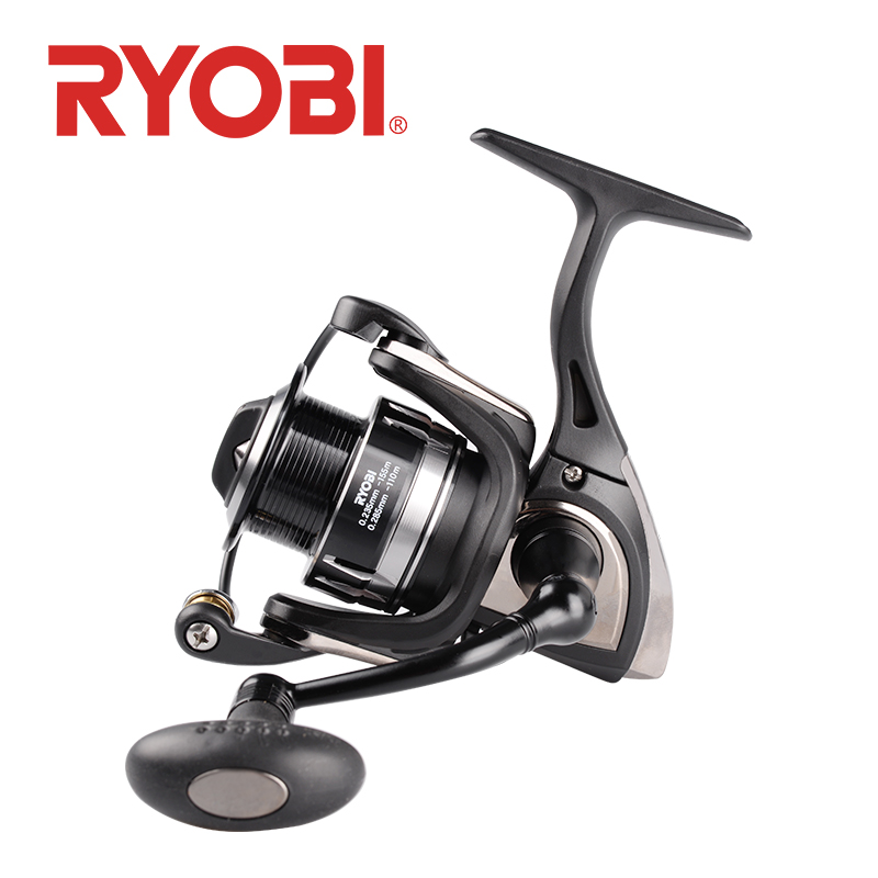 <font><b>RYOBI</b></font> TENJIN Fishing Reel Spinning Wheel 2000 <font><b>3000</b></font> 4000 6000 8000 6+1BB 5.1:1/5.0:1 MAX DRAG 2.5kg~10kg pesca reel fishing reels image