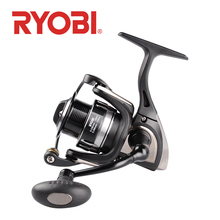 RYOBI TENJIN Fishing Reel Spinning Wheel 2000 3000 4000 6000 8000 6+1BB 5.1:1/5.0:1 MAX DRAG 2.5kg~10kg pesca reel fishing reels new ryobi accurist 2000 3000 4000 fishing spinning reel 4 1bb 3kg 5kg max drag reels fishing wheels metal spool saltwater
