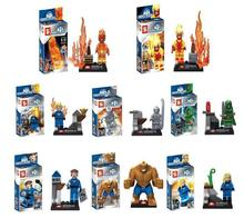 480pcs/lot The fantastic four movies SY167 Building Bricks Blocks  Marvel Figures Minifigure Toys