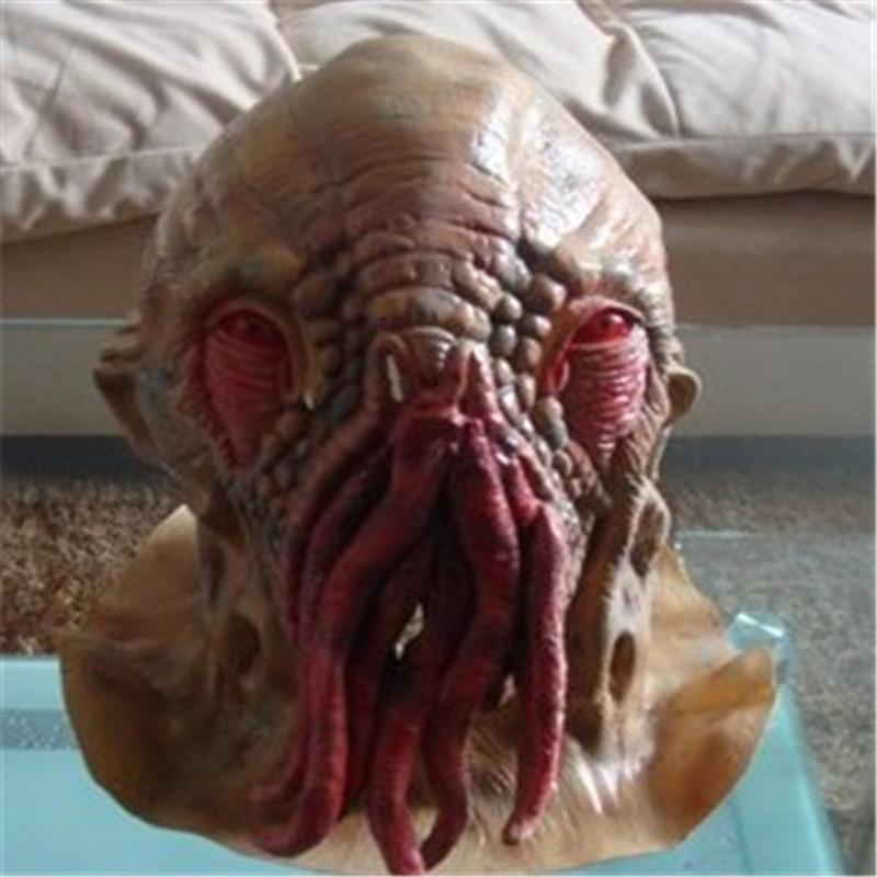Doprava zdarma Doktor chobotnice Kostýmní rekvizity Horor Doktor Kdo Maska Vánoční karneval Halloween Hrůzný Latex Cosplay Masky