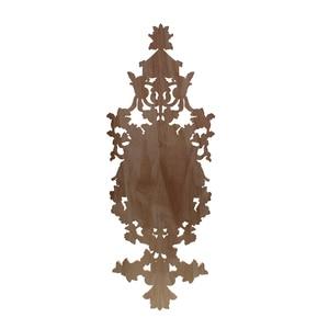 Image 5 - VZLX Hout Applicaties Beeldjes Decal Meubels Gesneden Window Decor Miniaturen Houten Ambachten Woondecoratie Accessoires DIY