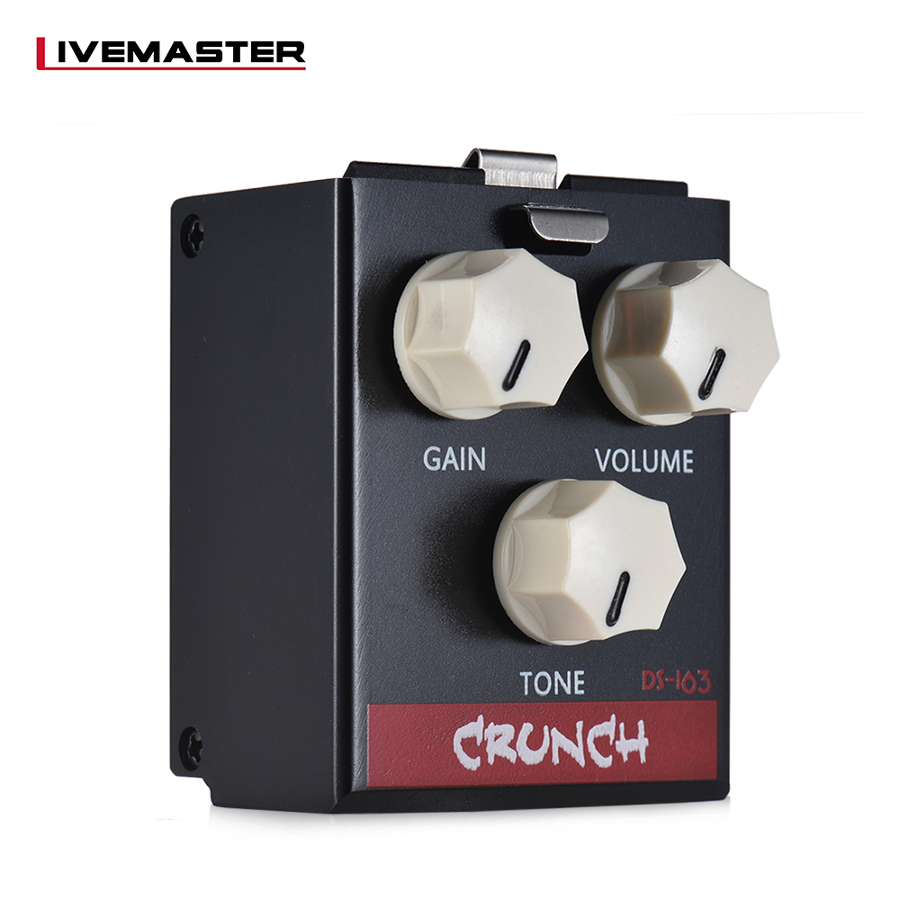 buy biyang livemaster series guitar pedal ds 163 crunch distortion guitar. Black Bedroom Furniture Sets. Home Design Ideas