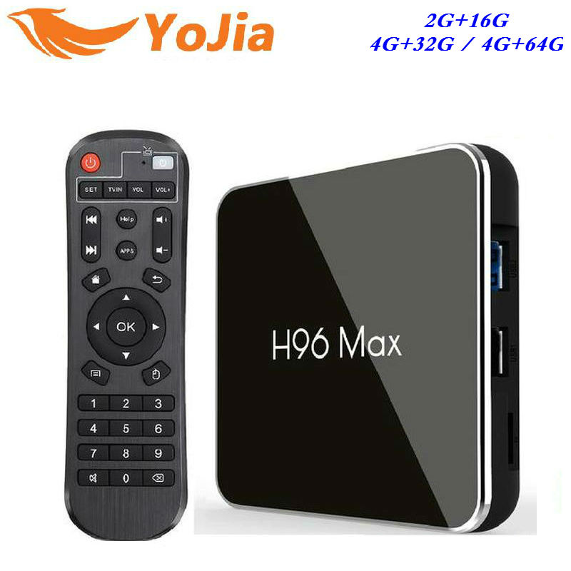 4G RAM 64G Android 8,1 caja de TV H96 MAX X2 Amlogic S905X2 Smart 4 K Media Player 2,4G y 5G Wifi PK X96 max H96MAX Set Top Box Youtube - 2