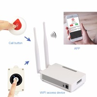 Wireless WIFI Internet Emergency Alert System Waterproof Help Call Button For Senior Parents F4527