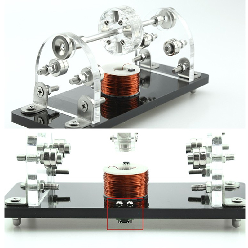 DIY ミニホールブラシレスモーター 5V 3000 6000Rpm 3 点磁性浮上高速ホールセンサドライブ小型モータ用 DIY 趣味  グループ上の 家のリフォーム からの DCモーター の中 1