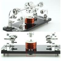 DIY Mini Hall Brushless Motor 5V 3000 6000Rpm 3 Point Magnetic Levitation High Speed Hall Sensor Drive Small Motor For DIY Hobby