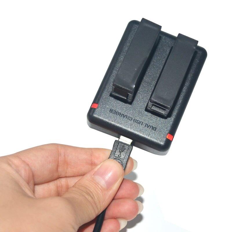 Двойной Зарядное Устройство Для GoPro Hero 4 AHDBT-401 Два Заряда батареи Tide Go Pro Hero4 Аксессуары С USB Кабель Новый 2015 оптовые