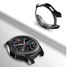 Чехол для galaxy watch 46 мм 42 active 40 тонкий мягкий силиконовый