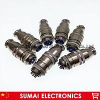 10PCS female *(4Pin+7Pin) and 2PCS male*(4Pin+7Pin) 16mm circular connector kit XS16 Socket+Plug,Aviation plug interface