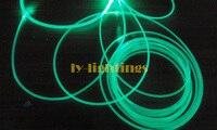 Fibra óptica de fibra óptica da luz lateral Top sólida durável diameter5mmx10meter comprimento alta eficiência de transmissão de luz para a decoração