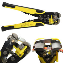 Multifunctional Wire Stripper Automatic Crimper Cable Cutter Crimping Stripping Pliers 0.2-6.0mm Hand Tools newacalox cable wire stripper cutter crimper automatic multifunctional crimping stripping plier tools electric