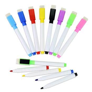 1 szt Tablica magnetyczna magnes do rysowania i nagrywania wymazywalna sucha markery do białych tablic szkolnych tanie i dobre opinie hopk GT69 Nie dotyczy Single 8Pcs bag 11 3 x 13 1CM Eight kinds of color