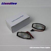 Liandlee For Honda Civic VII VIII 2001~2014 / LED Car License Plate Light / Number Frame Lamp / High Quality LED Lights