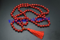 Unique Design 8MM Round108 Red Coral Beads Tassel Mala Prayer Woman Necklace For Festival Gift For Gift Free Shipping 1pc/lot