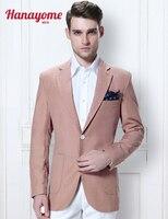 Erkekler Için Parlak pembe Suits Smokin Çin Tunik Erkekler Uzun Kuyruk ceket erkek 2 Düğmeler İş Dış Giyim Popüler Yün Smokin Suit D309