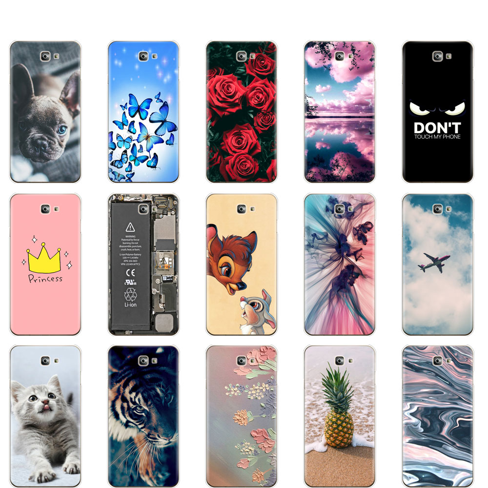 For Samsung J7 Prime 2 Case cover Silicone Soft housing For Samsung Galaxy J7 Prime 2 cover G611 G611F 2018 5.5 inch cute dog image