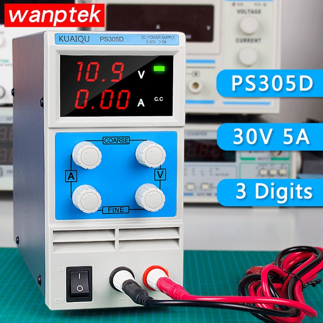 Switch laboratory DC power supply 30V 5A 0.1V 0.01A Single phase adjustable SMPS Digital voltage regulator Mini DC Power Supply