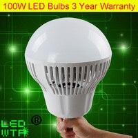 100 Wát E40 chiếu sáng công nghiệp bay 1.5 KG/CÁI LED Bulb AC85-265V 100 Wát LED Mining Lights Cho các Trường Học Nhà Máy kho DHL Miễn Phí