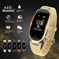 Reloj inteligente S3 Smart watch moda mujer señoras ritmo cardíaco Bluetooth reloj inteligente para HUAMI Xiaomi Android IOS reloj