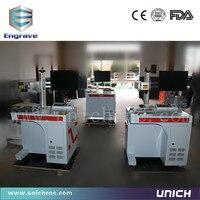 High Speed EZCAD Software 20w 30w 50w Fiber Laser Marking Machine