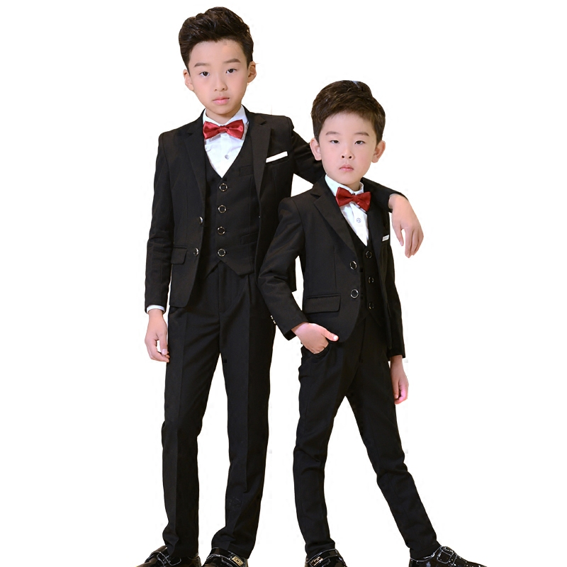 Boy suit blazers kids Boys suits for weddings Suits Wedding Dress for Boys Kids tuexdo Children Clothing Set Blazers for Boys kids blazers jackets blue patchwork clothing set for baby clothes boys wedding dress children lounge suit terno infantil blazers