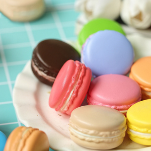 Image 2 - Multiple Colors Macarons Simulated Baking Artificial Bread ins Photography Props DIY Decoration Photo Taking Picture Accessories