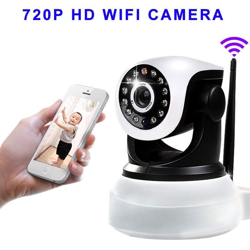 Wireless Pan Tilt Security 720P Network CCTV IP Camera Night Vision WIFI Webcam
