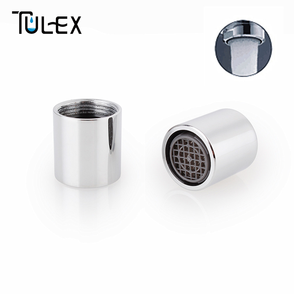TULEX Kitchen Faucet Aerator 16MM Female Thread SUS304 Bubbler Filter Spout Crane Attachment Full Flow Bathroom Accessories