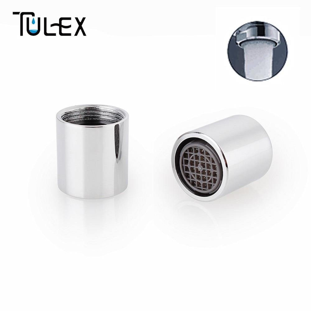 US $3.98 |TULEX Kitchen Faucet Aerator 16MM Female Thread SUS304 Bubbler  Filter Spout Crane Attachment Full Flow Bathroom Accessories-in Aerators  from ...