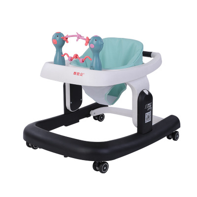Multi-functional Baby Walker Anti-rollover Multi-function Adjustable Folding Auxiliary Baby Toddler