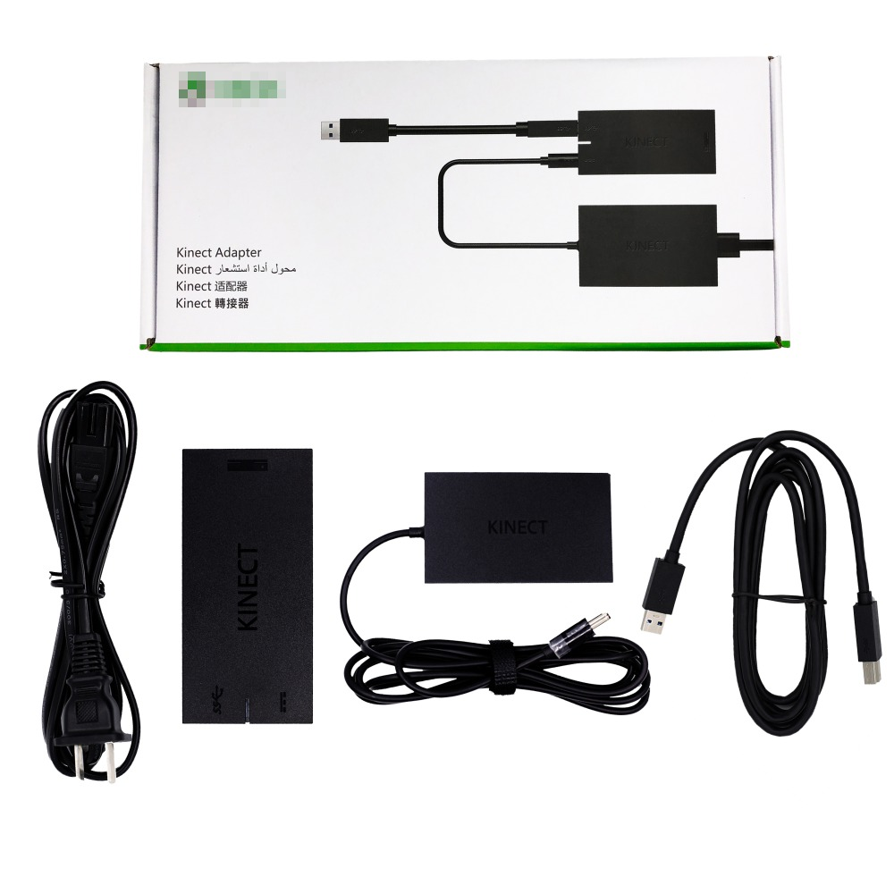 US $25 0  For Xbox One /S/X Kinect Adapter Kinect Sensor Power Supply AC  Adapter For Windows Original-in Gamepads from Consumer Electronics on