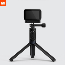 Original Xiaomi Stativ Selfie Stick Bluetooth Remote 360 Rotation Leichte Faltbare Für Xiaomi Mini Sport Action Kamera 4K
