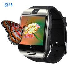 Оригинальный переносной устройства q18 smart watch наручные часы bluetooth smartwatch спортивные шагомер набора sim tf карты пк kw18 u8 gv18