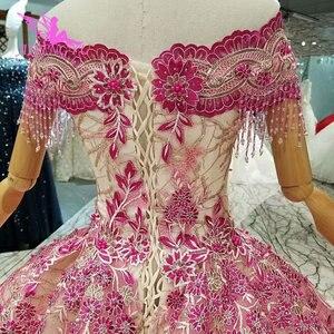 Image 2 - AIJINGYU kupić suknie ślubne suknie poniżej 500 otwórz wróć królowa Illusion włoski Vegas wesela muzułmanin suknia ślubna