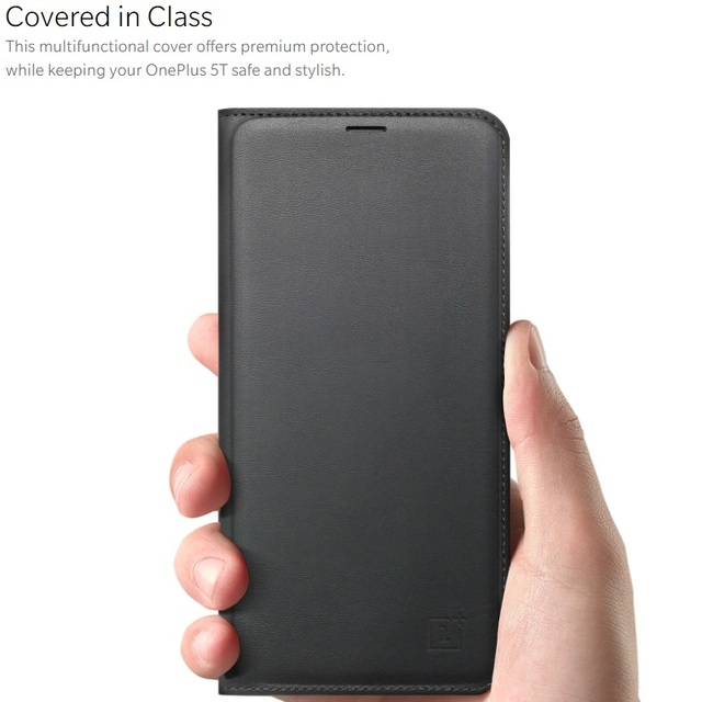 check out 5e670 b255f US $17.0 19% OFF|Original Official OnePlus 5 5T 6 Flip Cover Smart Leather  Cover with Sleep Wake Up Card Slot for OnePlus 6 Case PU Leather Case-in ...