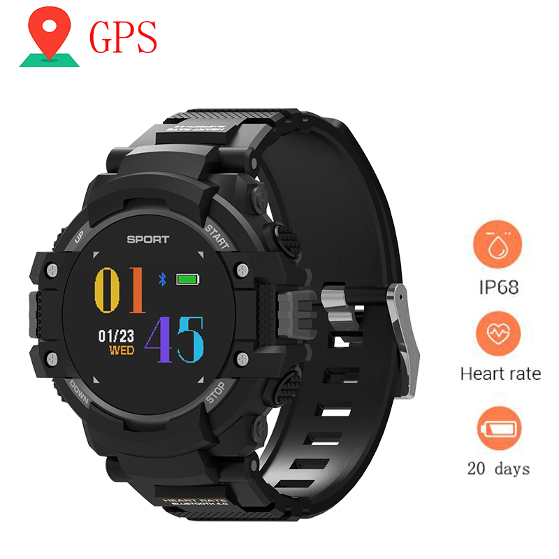 Smart Watch Gps Wearable Devices Activity Tracker Bluetooth 4.2 Altimeter Barometer Compass Gps Outdoors Watch Watches