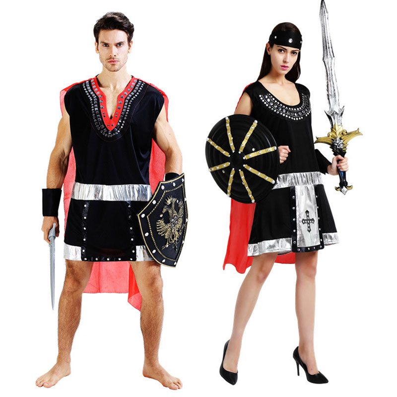 Halloween Carnival Adult Ancient Roman Greece Greek Soldier Gladiator Costume Spartan Warrior Costumes for Men Women Couple-in Boys Costumes from Novelty ...  sc 1 st  AliExpress.com & Halloween Carnival Adult Ancient Roman Greece Greek Soldier ...