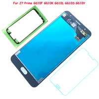 FIX2SAILING 100 Working AMOLED LCD Display Touch Screen Assembly For Samsung Galaxy J7 Prime G610F G610K