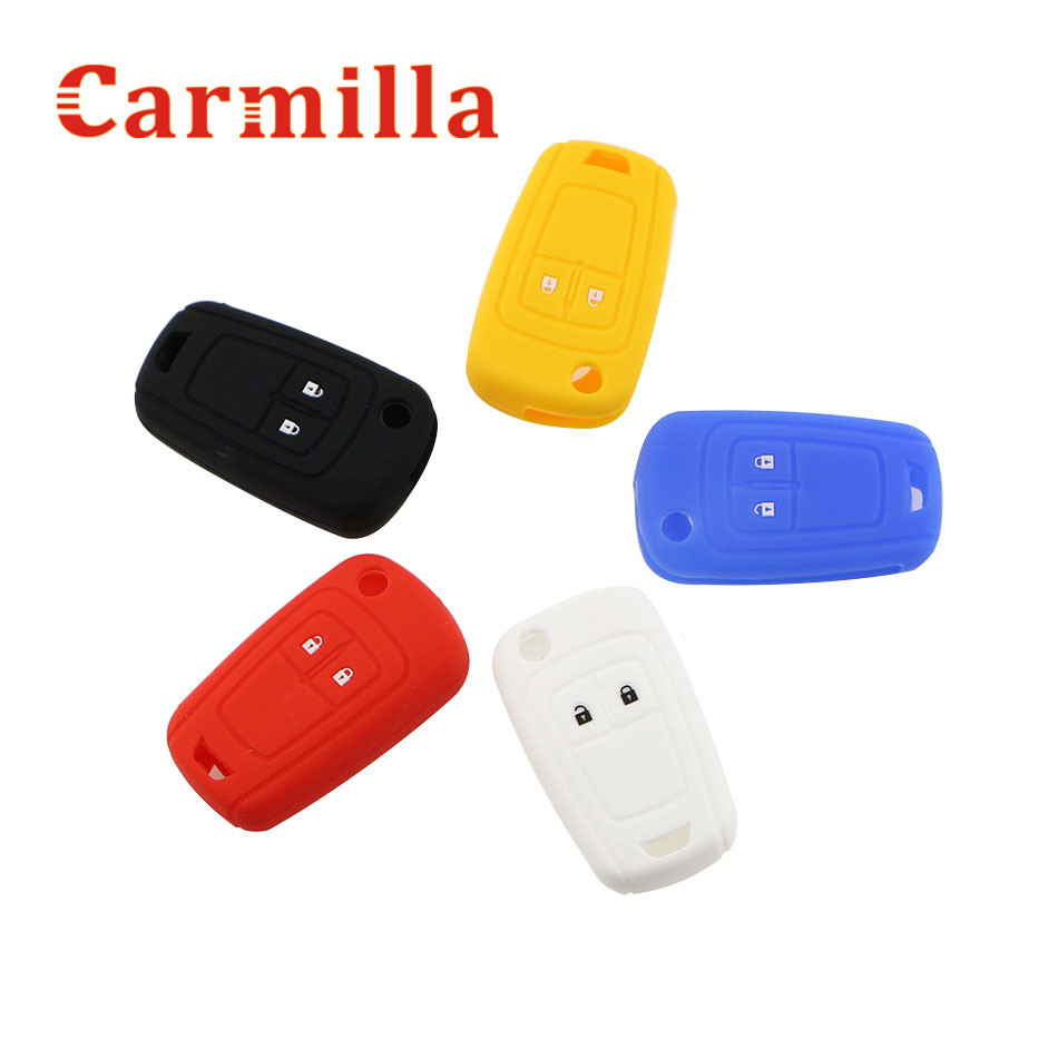 Carmilla Silicone Car Key Protective Holder Cover Bag Case for Opel Astra Corsa ADAM Antara Meriva Zafira Insignia Accessories htrc ht206 ac dc duo 200w 2 20a 2 dual port 4 3 color lcd touch screen rc balance charger for lilon lipo life lihv battery